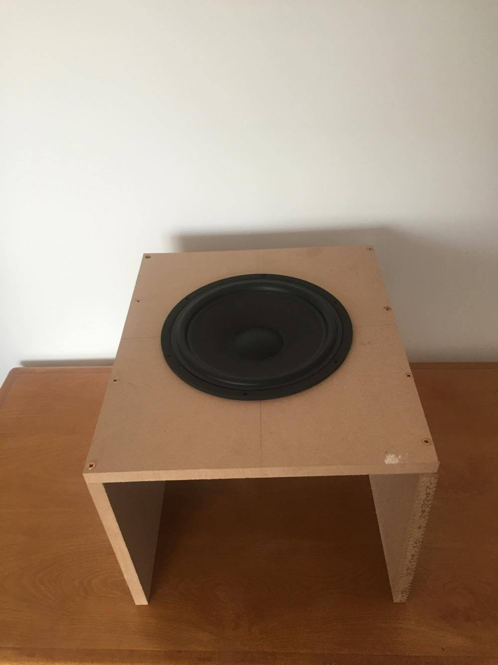 Subwoofer burn in
