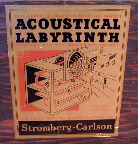 transmission line acoustic labyrinth