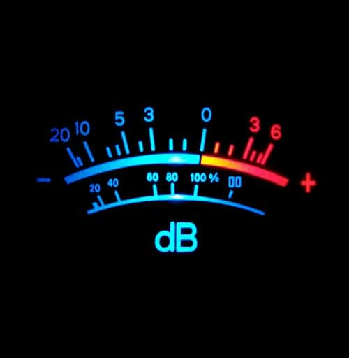 how to measure decibels