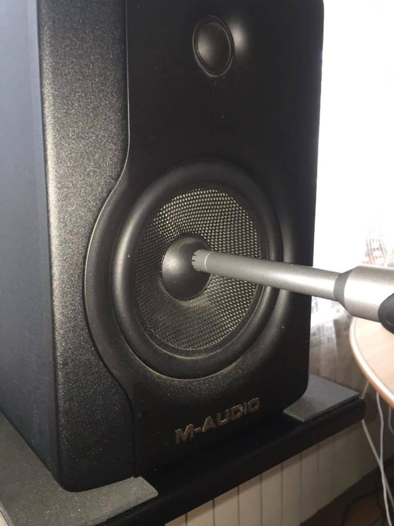 nearfield loudspeaker measurement