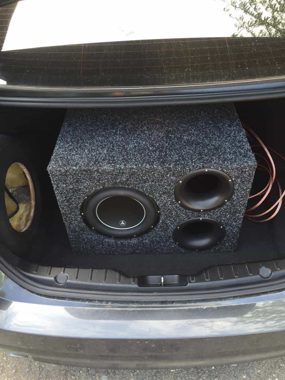 Car Subwoofer In Trunk Www Pixshark Com Images