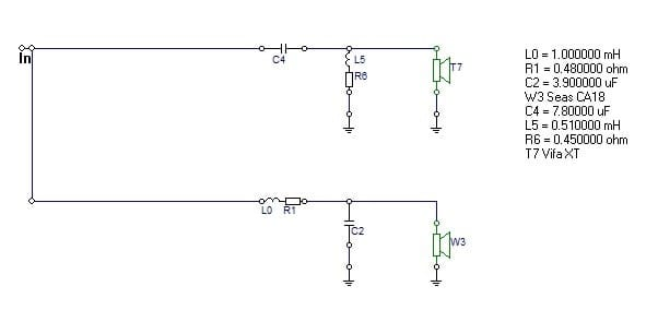 2nd order linkwitz riley circuit diagram