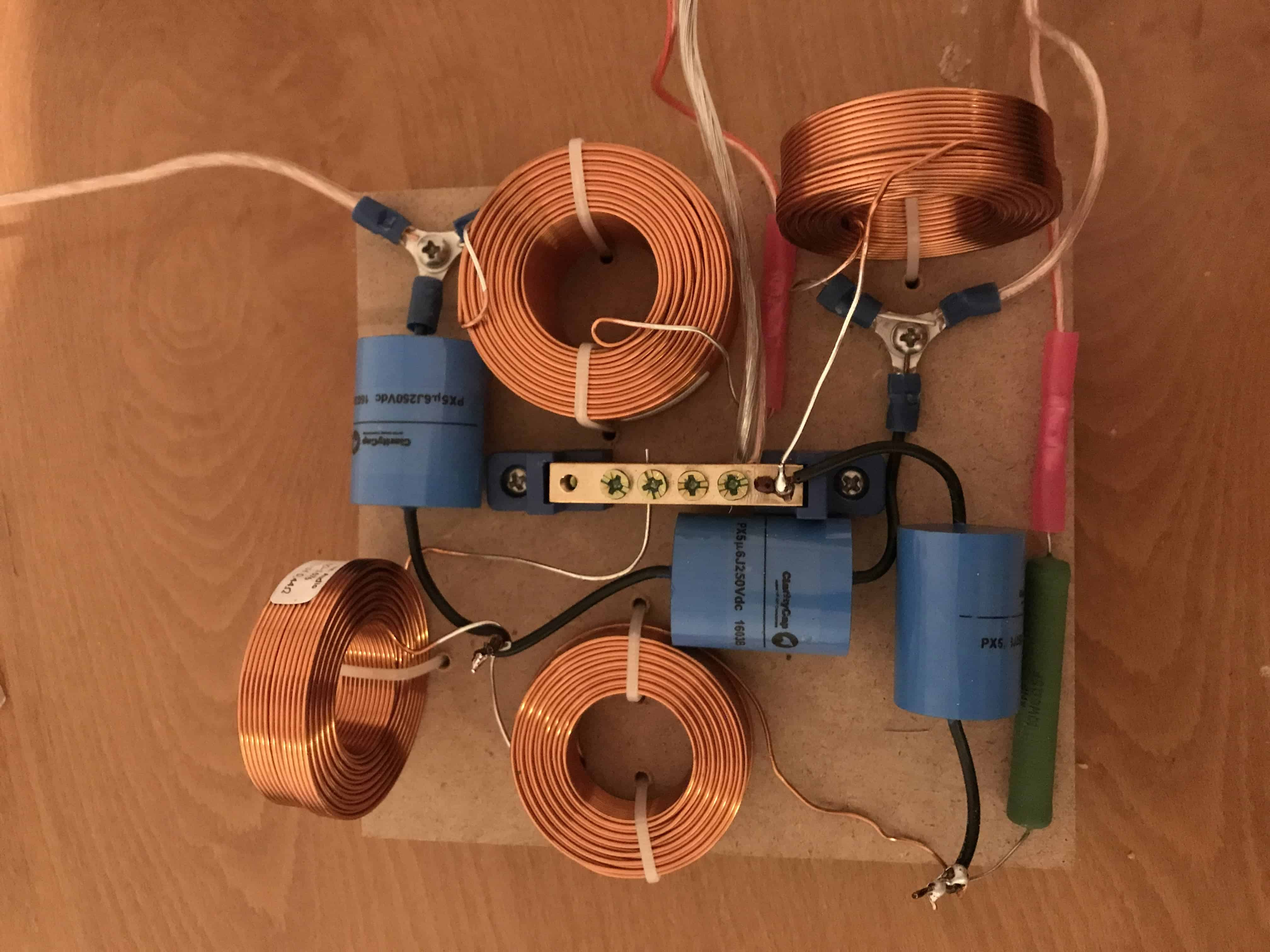 How To Build A Passive Crossover Network Audio Judgement Collection Speaker Circuit Diagram Pictures Diagrams Homemade