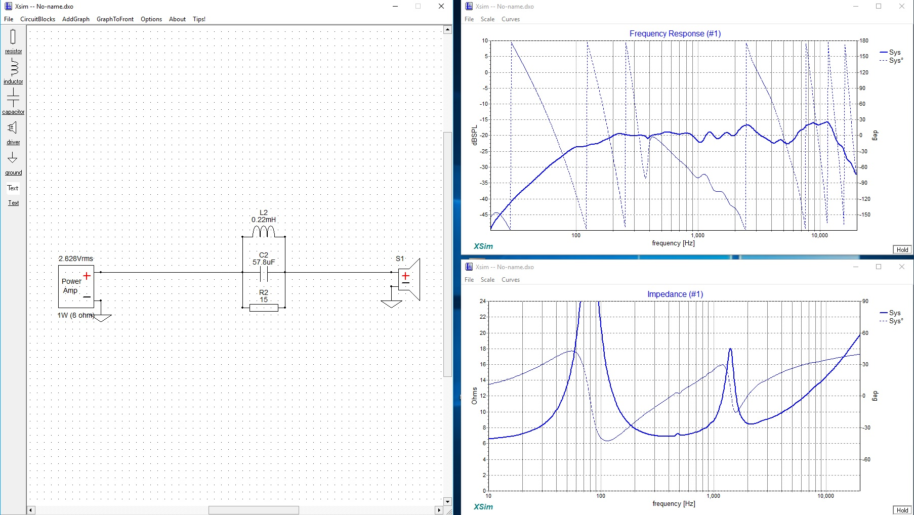 Audio Peak Filter Circuit With Practical Example Judgement Parallel Electrical Having A After Quite Bit Of Fiddling I Manage This Response Not Exactly Ruler Flat But Way Better Than That 6 Db Hump
