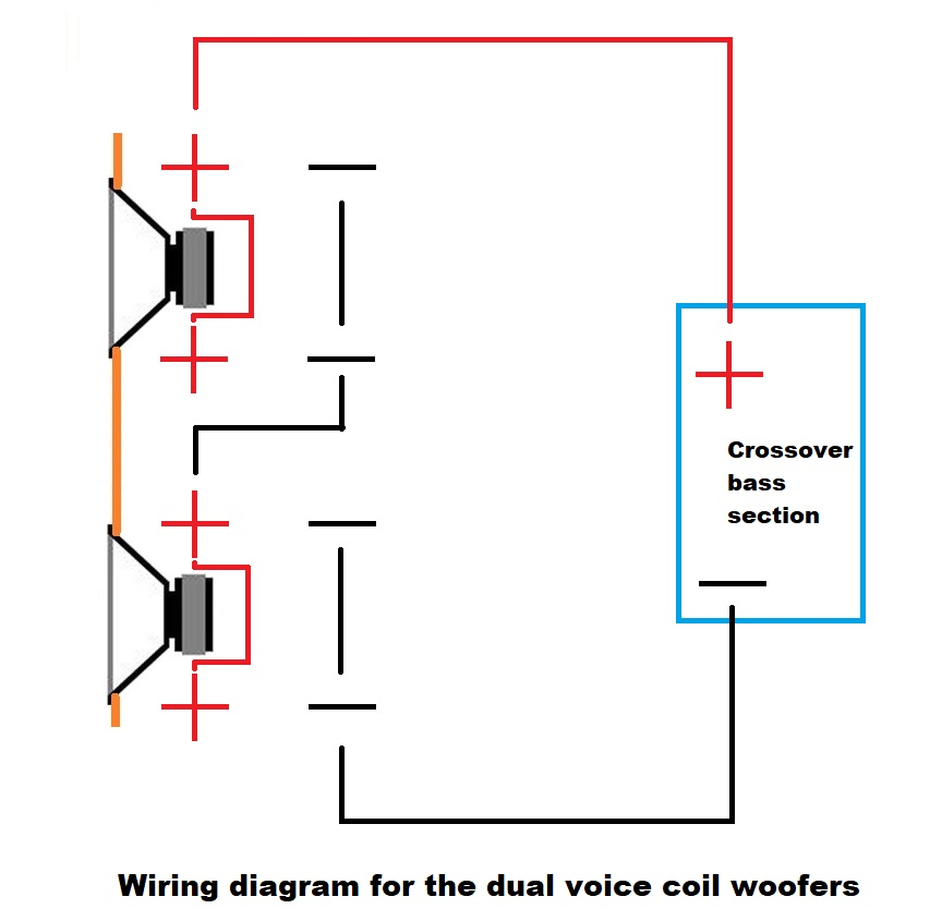 dual voice coil wiring