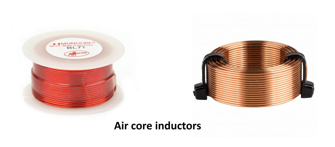 audio grade air core inductors