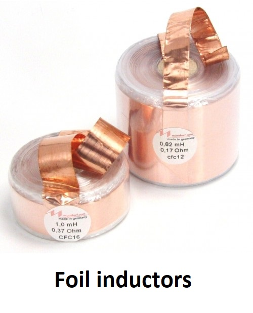 foil audio grade inductors