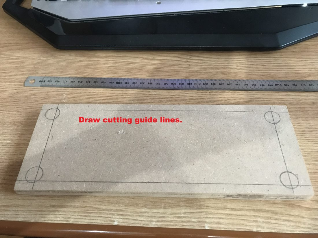 Draw cutting lines