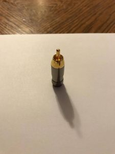 rca connector male