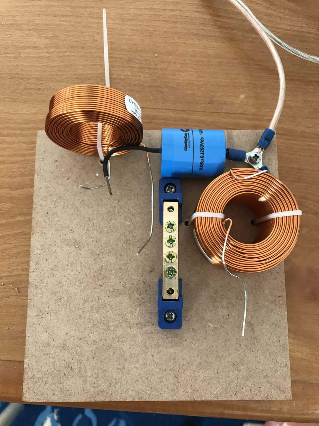 Passive crossover components